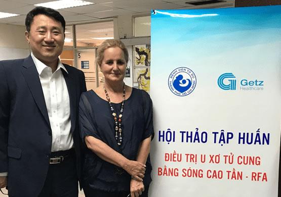 Masterclass de Radiofrecuencia de Miomas en el Hospital Tu Du. Vietnam 2019