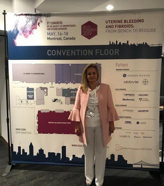 5º congreso de SEUD celebrado en Montreal. Canadá 2019